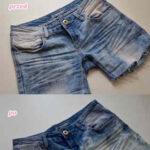 Wybielanie jeansów domestosem